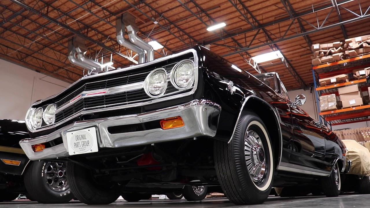 OPGI Product Spotlight: 1964-1965 Chevelle and El Camino Bumpers