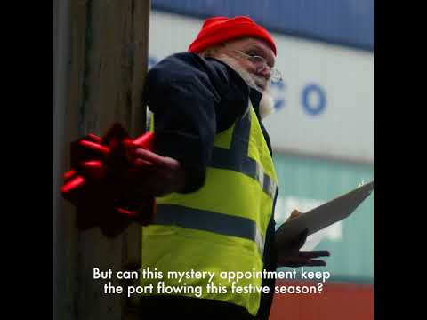 Dublin Port Shipping Joy this Christmas!