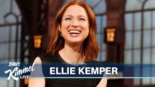 Ellie Kemper on New Baby, Living in NY & Autobiography