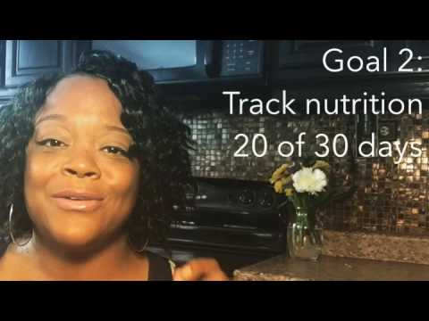 Setting goals for Exercise, Nutrition and Meditation