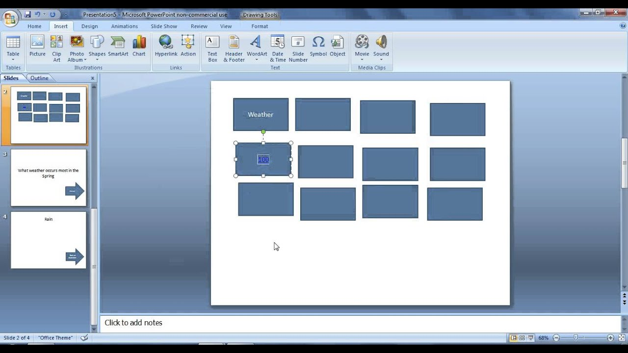 how to make a jeopardy game using powerpoint