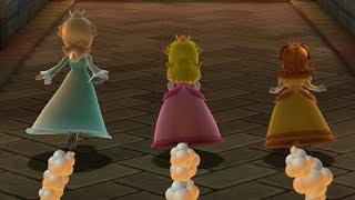 Mario Party 10 - Rosalina vs Peach vs Daisy - Coin Challenge