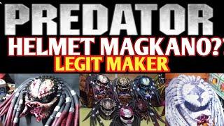 PREDATOR HELMET | LEGIT MAKER | MOTORCYLE |  MAGKANO?