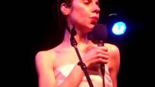 Black Hearted Love - PJ Harvey @ El Rey, Los Angeles 3/23/09