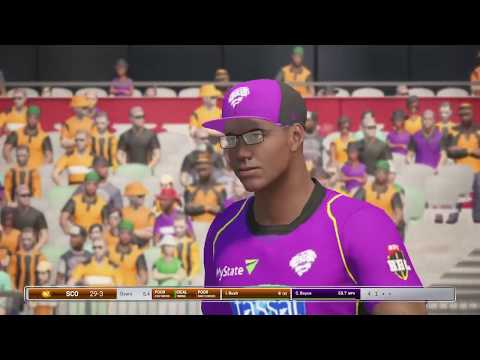 BBL T10 in Ashes cricket PS4 - Game 3 - Perth Scorchers v Hobart Hurricanes