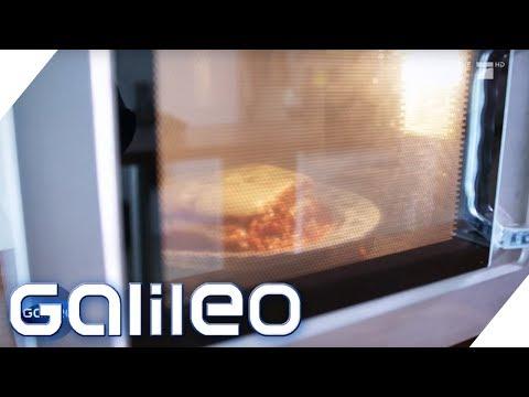Warum dreht sich das Essen in der Mikrowelle? | Galileo | ProSieben