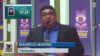 Mauricio Martins   Pronunciamento Russas 21 01 2020