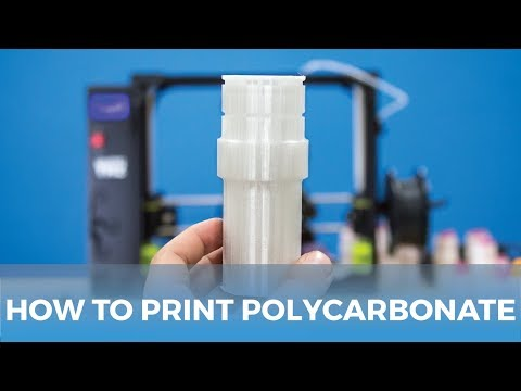 How to Succeed when Printing with Polycarbonate Filament | MatterHackers