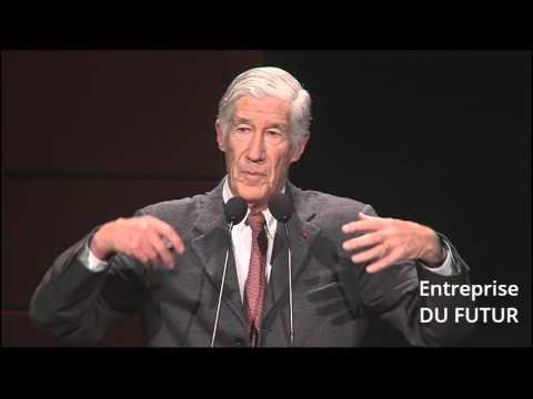 Conférence Joël de Rosnay : Voyage vers le futur, mon entreprise en 2030