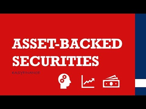 Asset-backed securities (ABS) einfach erklärt