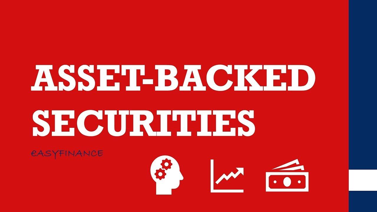 Asset Backed Securities Einfach Erklärt