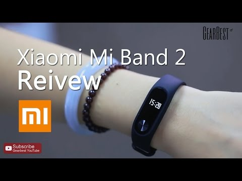 Gearbest Review: Xiaomi Mi Band 2 Heart Rate Monitor Smart Wristband