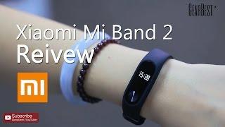 gearbest review xiaomi mi band 2 heart rate monitor smart wristband