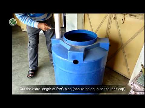 How to Make Homemade Biogas Digester Plant - YouTube