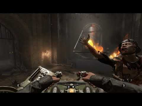 Wolfenstein The Old Blood, Pc Game, Chapter 7 Cinematics