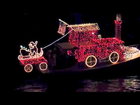 Christmas Boat Parade of Lights in