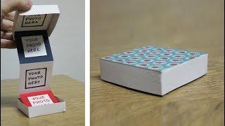 DIY Photo Album Box - Pull Out Photo Box