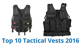 10 Best Tactical Vests 2016