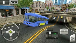 Bus Parking 3D - Chinese Bus Driving - Android Gameplay FHD