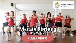 Download lagu MERAIH BINTANG – Via Vallen | ZUMBA FITNESS | Choreo by @rikychao