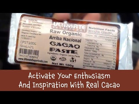 Dr Robert Cassar, Activate your Inspiration and Enthusiasm with Cacao-Mini Lecture in the car 2015