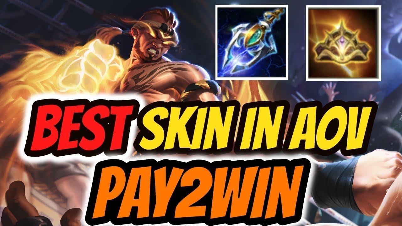 Raz Muay Thai Skin Gameplay Best Skin In Aov Raz Arena Of Valor