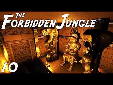 The Forbidden Jungle (adventure) | Planet Coaster | Ep. 10 | Jungle Cruise Water Boat Ride | Part 3