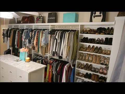 Glam Room Closet Tour | Home Tour 2016 | Francesca Fox