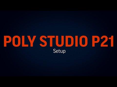 Poly Studio P21: Setup