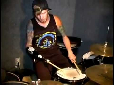 One Arm Drummer Jason Barnes Youtube