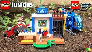Catch A Burglar On The Loose |  Lego City Unboxing and Play
