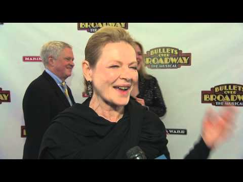 DIANE WIEST RED CARPET   NIGHT OF BULLETS OVER BROADWAY  THE MUSICAL