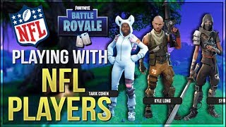 Getting Carried By NFL Players (Fortnite Battle Royale)