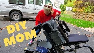 DIY MOM Replaces Power Wheelchair Batteries!