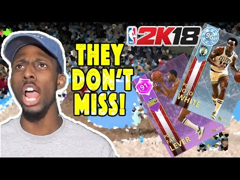 NBA 2K18 Diamond Jo Jo White & Amethyst Fat Lever Gameplay!