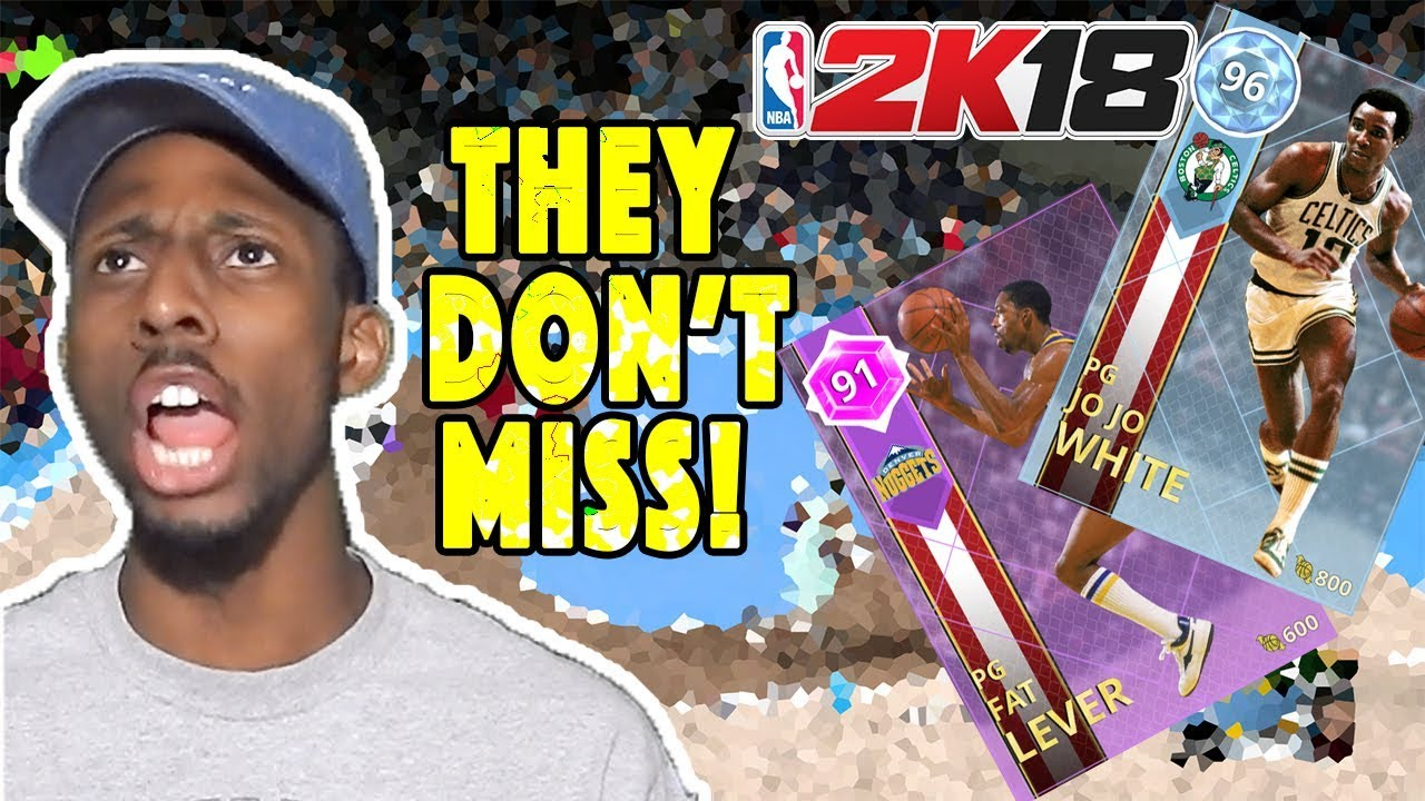 NBA 2K18 Diamond Jo Jo White & Amethyst Fat Lever Gameplay