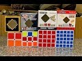 default - Black Cube Puzzle Bundle Pack,2x2x2,3x3x3,4x4x4,5x5x5 Set,shengshou Speed Cube Collection