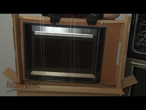 Outer Door Glass Assembly (Stainless) - Kitchenaid Double Wall Oven (Model #KODE500ESS02)