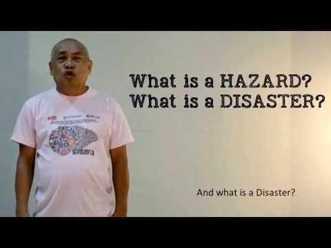 DIDRR - Basic Concepts in DRRM