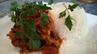 Рыба в духовке.Рыба в томатном соусе.Fisch im Ofen