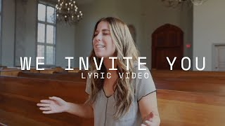G12 Worship - We invite you (Lyric Video)