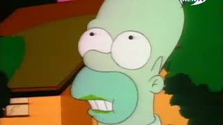 Симпсоны - 2 сезон - Маленький домик ужасов на дереве (clip3)