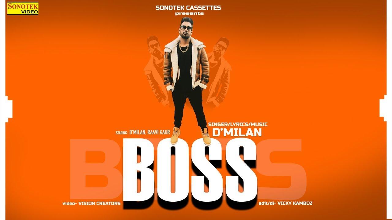 Boss | D'MILAN | Latest Haryanvi Songs Haryanavi 2019 | Raavi Kaur | Vicky Kamboz | Vision Creators