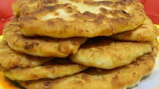 Тесто для пирожков (сырное тесто на картофельном отваре).  Выпечка