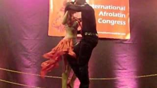SENSUAL DANCE 2011, Sherazade y Curtis show kizomba