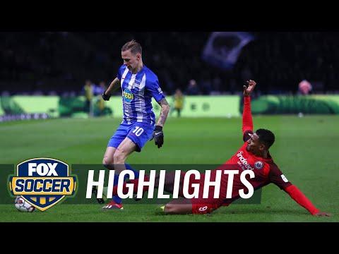 Hertha BSC Berlin Vs. Eintracht Frankfurt | 2018-19 Bundesliga Highlights