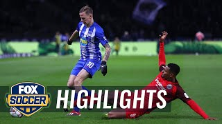 Hertha BSC Berlin vs. Eintracht Frankfurt | 2018-19 Bundesliga Highlights