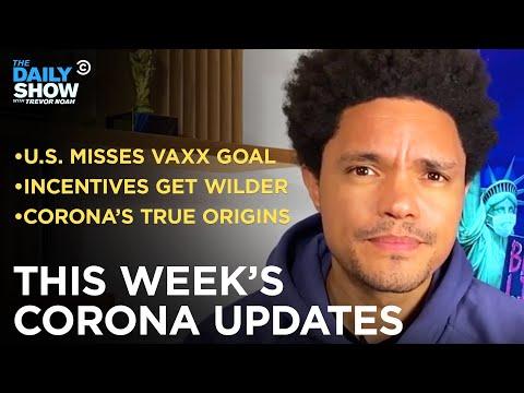 This Week's Coronavirus Updates – Week of 6/7/2021   The Daily Show