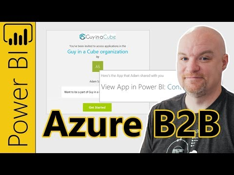 Use Azure B2B to invite external users to view Power BI content