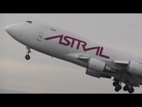 B747 Air Atlanta Icelandic Off To BELGIUM From DONCASTER AIRPORT (UK)